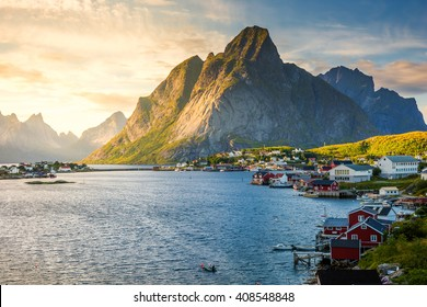 Lofoten, Reine, Norway,