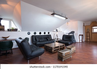 Loft apartment living room