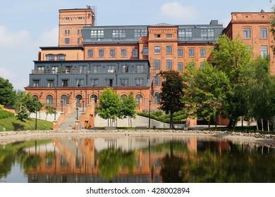 Loft Aparts - Architecture of the city of Lodz,Poland, - Revitalized buildings