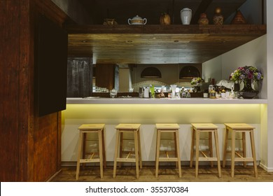 Loft interior Bar design