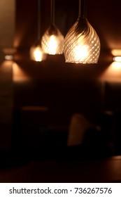 Loft interior Lamp