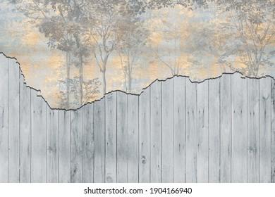 loft style texture on wall - Shutterstock ID 1904166940