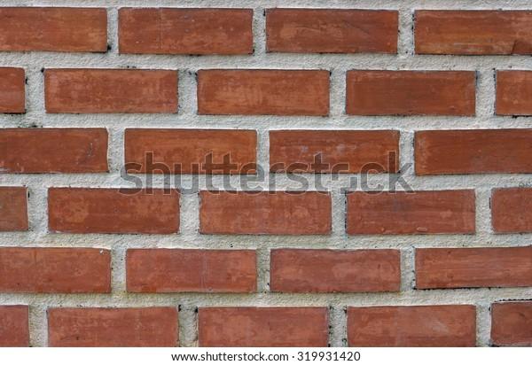 Loft and vintage Red bricks wall