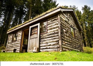Log Cabin in wood