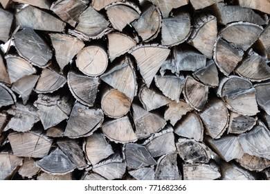 A log pile