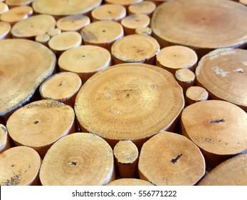 log stack background