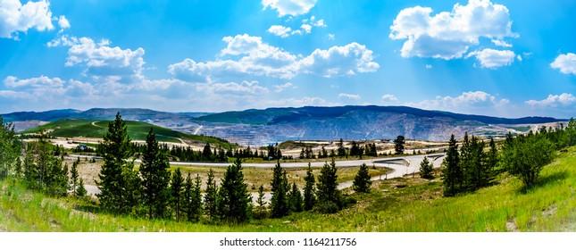 Logan Lake BC Canada July 28 Stock Photo (Edit Now) 1164211750