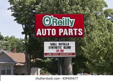 Logansport, IN - Circa June 2016: O'Reilly Auto Parts Store. O'Reilly is a Retailer and Distributor of Automotive Parts III