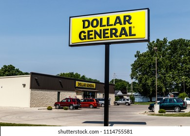 Logansport - Circa June 2018: Dollar General Retail Location. Dollar General is a Small-Box Discount Retailer III