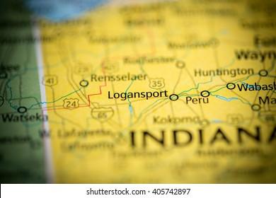 Logansport. Indiana. USA
