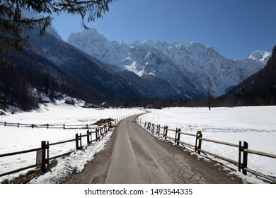 Logar Valley  Julian Alps Slovenia