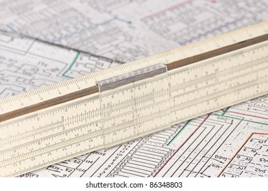 logarithm ruler on the scheme