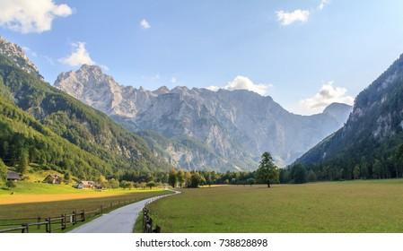 Logarska valley, Alps, Slovenia
