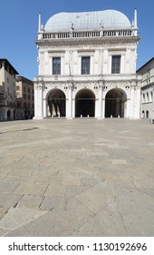 Loggia is a Renaissance palace located in Loggia square in the center of Brescia.