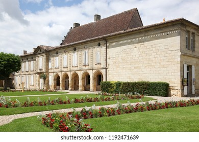 Logis de Malet building in Saint Emilion, France