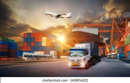 Container Truck Images, Stock Photos & Vectors | Shutterstock