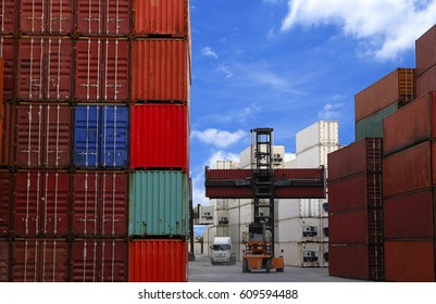 Logistics and transportation of container terminal For trading and export business.