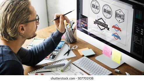 Logo Design Business House Concept - Shutterstock ID 507701938