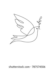 Logo Dove white