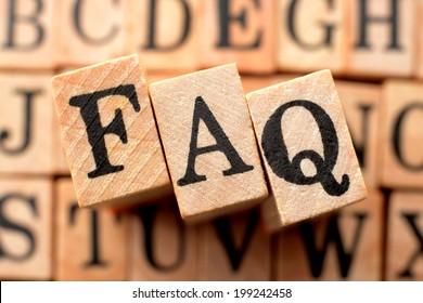 Logo for FAQ