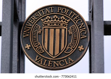 Logo of Technical University of Valencia, established 1971, educating more than 37800 students.