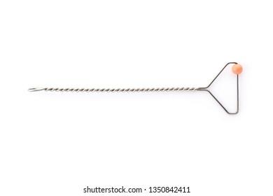 Logopedic tool for speech correction on white background