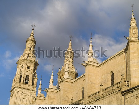 Capital Of Rioja logrono capital rioja artistic city located stock photo (edit now
