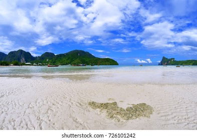 Loh Dalum beach at Phi Phi Don island, province of Krabi, Thailand