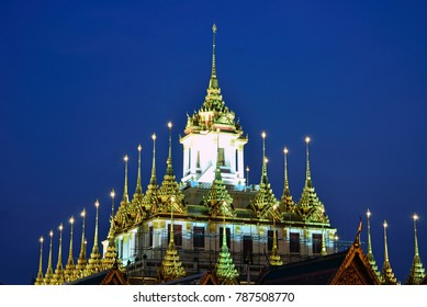 Loha Prasat,Buddhist temple in Bangkok
