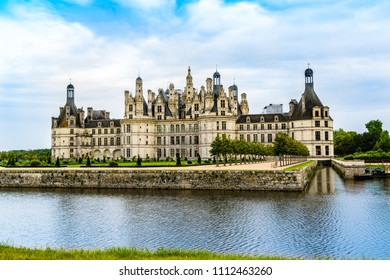 Loide Valley, France: The Castle of Chambord,  the largest castle in the Loire Valley, a Renaissance castle built by King Francis I of France.