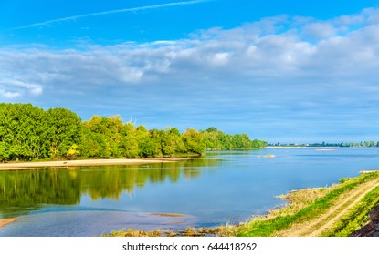 The Loire river between Angers and Saumur - France, Maine-et-Loire