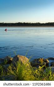 Loire River, Loire valley. France, Maine et Loire