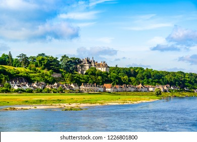 Loire Valley - May 29, 2018: Castle of Chaumont sur Loire on the Loire Valley  in the district of Loir et Cher, founded in the 10th century by Odo I, Count of Blois.