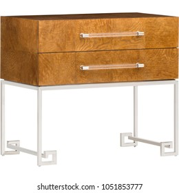 Loke Console Table - on White background