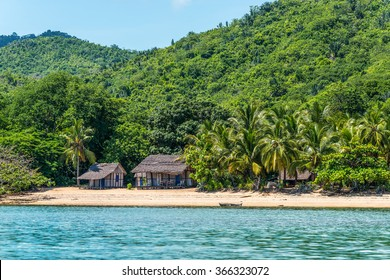 Lokobe Strict Reserve beach view in Nosy Be, Madagascar