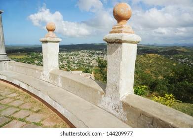 Loma de la Cruz in Cuba