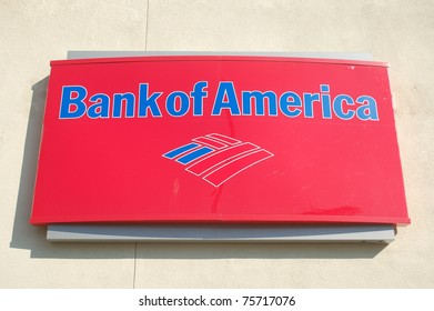 LOMA LINDA, CA - OCTOBER 31: Bank of America sign October 31, 2010 in Loma Linda, CA. Bank of America is being investigated by U.S. Government authorities for mishandled home foreclosures or loans.