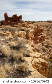 Lomaki Pueblo ruin at Wupatki National Monument in northern Arizona