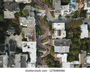 Lombard Street from Above