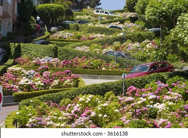 Lombard Street in the crookedest street in the world, San Francisco