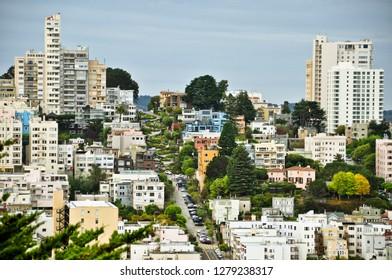 lombard street view