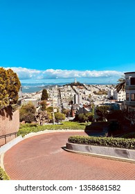 Lombard Street. Worlds most crooked street