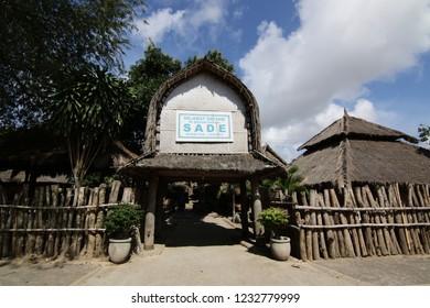 Lombok, 20 September 2018.Sasak Village Sade.