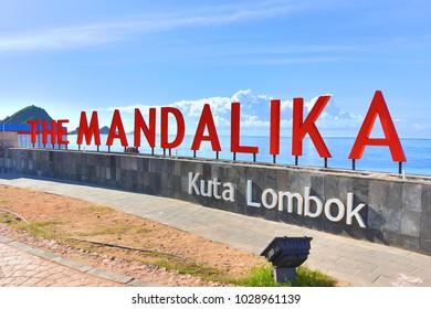 LOMBOK, INDONESIA. 2018 Feb 10th. The Mandalika Beach that Developing for new Resort Area.