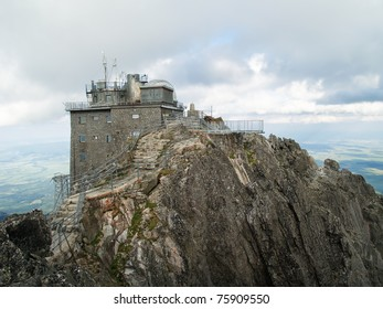 Lomnicky stit (Lomnicky peak) is one of the highest (2634m) and most visited mountain peaks in the High Tatras mountains of Slovakia.