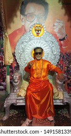Lonavala, Maharashtra India - June 3rd 2019: Bal Thackeray - a politician of India in wax museum