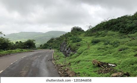Lonavala route hill road