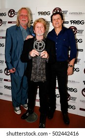 London, 1 of September 2016. Jon Anderson and his band at the Progressive Music Award 2016 ar Underglobe theater in London Southbank.