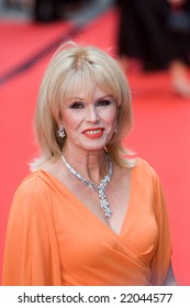 LONDON - 20 APRIL: Joanna Lumley Arrivals for the British Academy Television Awards 2008 at The Palladium on April 20, 2008 in London, England
