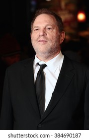 LONDON - 28, OCT 2015: Harvey Weinstein attends Burnt film premiere on Oct 28, 2015 in London